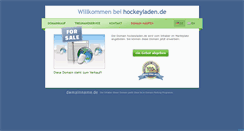 Preview of hockeyladen.de