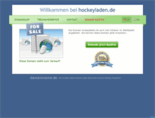 Tablet Preview of hockeyladen.de